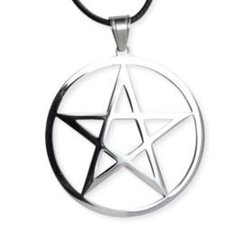 Hanger - Plain Pentagram - Stainless steel