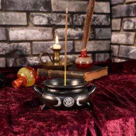 Cauldron Bubble Incense Burner - 13cm