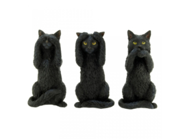 Three Wise Cats 9,5cm