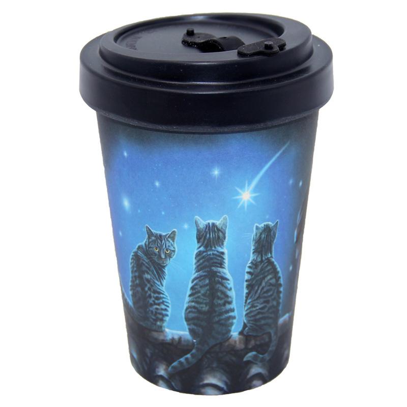 Travel mug - Wish upon a Star - Lisa Parker