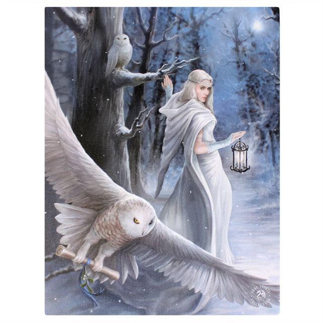 Canvas - Midnight Messenger - Anne Stokes