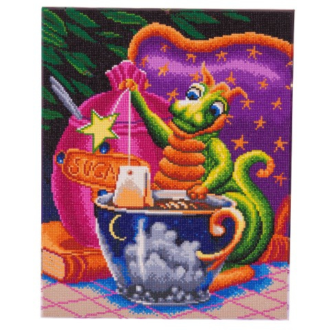 Diamond painting - Afternoon Tea Dragon - Craft Buddy ®