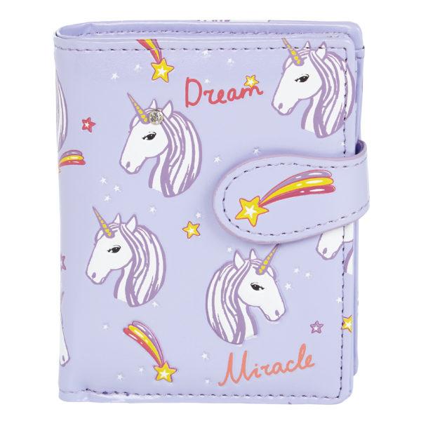 Portemonnee - Unicorns lila - Shagwear
