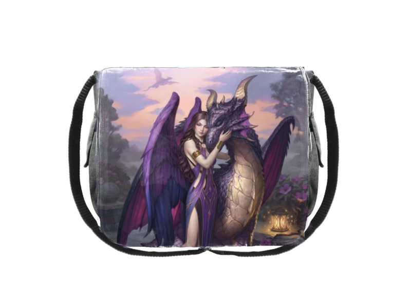 Messenger Bag - Dragon Sanctuary - James Ryman