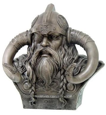 Odin - God van wijsheid - 24cm