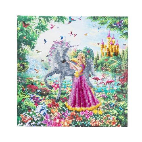 Diamond painting - Princess Unicorn - Craft Buddy ®