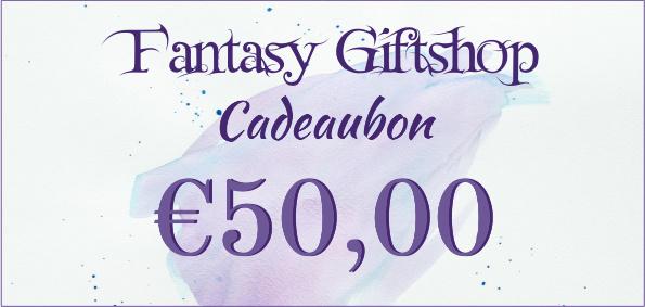 Cadeaubon - €50,00