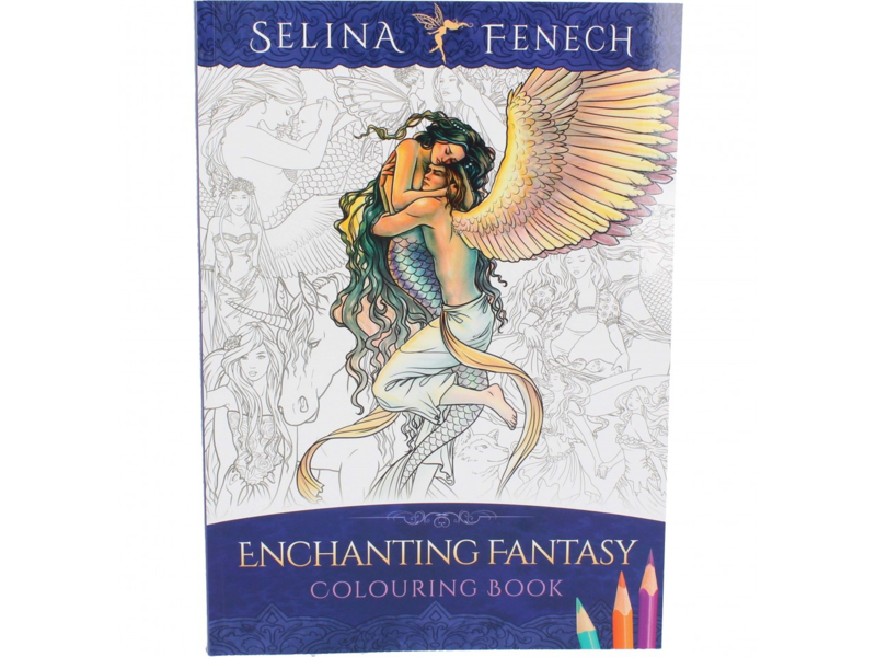 Colouring Book - Enchanting Fantasy - Selina Fenech
