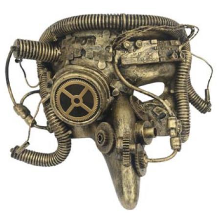 Steampunk masker - Cyber Pestdoctor