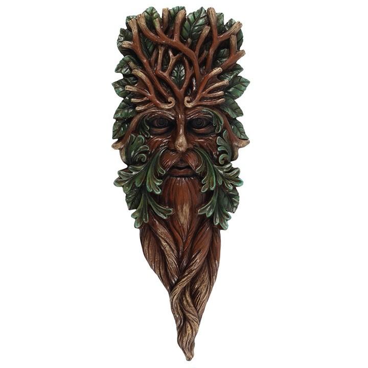 Green Man 42cm - wanddecoratie