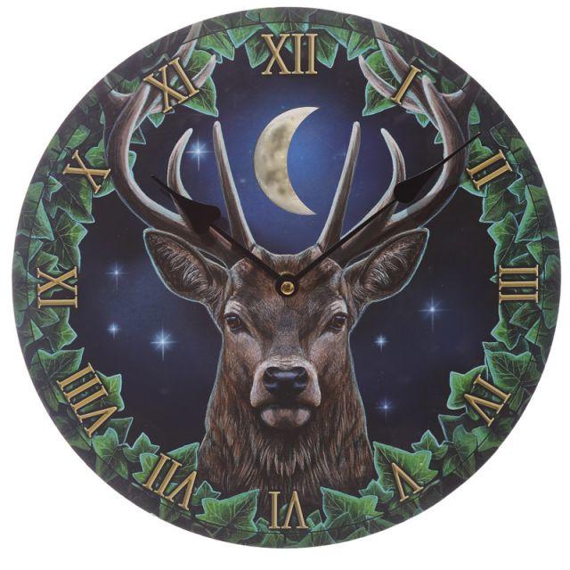 Wandklok - Emperor's Deer - Lisa Parker