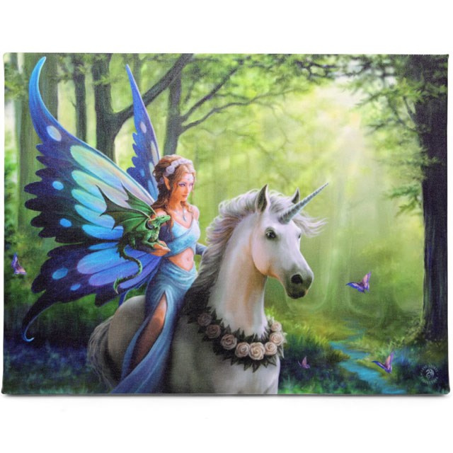 Canvas - Realm of Enchantment - Anne Stokes