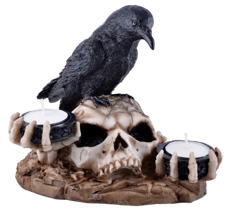 The Raven's Dark Light - theelichthouder