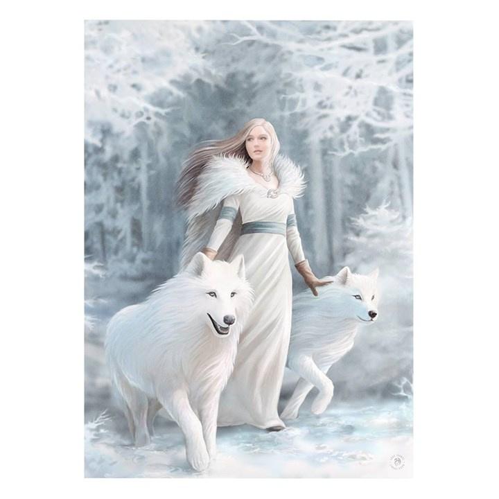 Canvas 50x70cm  - Winter Guardians - Anne Stokes