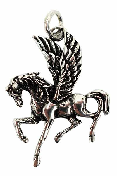 Pegasus hanger - Sterling Zilver