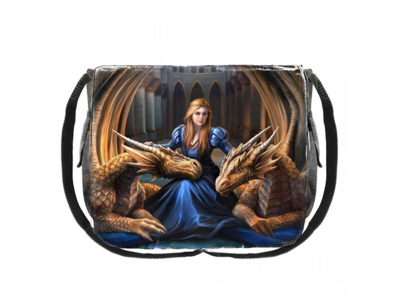 Messenger Bag - Fierce Loyalty - Anne Stokes