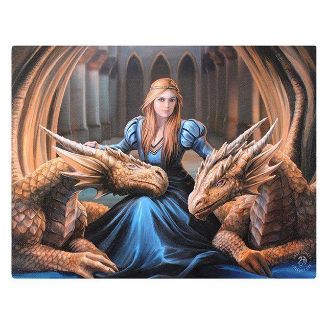 Canvas - Fierce Loyalty - Anne Stokes