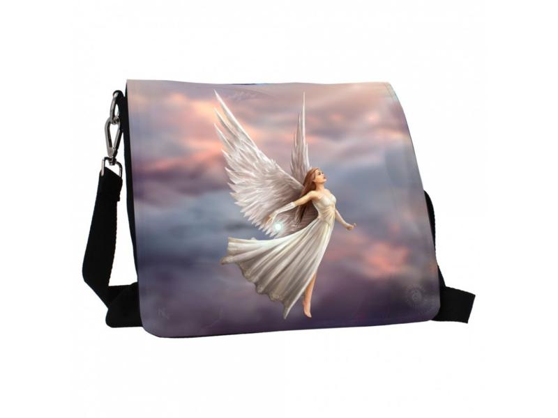 Embossed shoulder bag - Ascendance - Anne Stokes