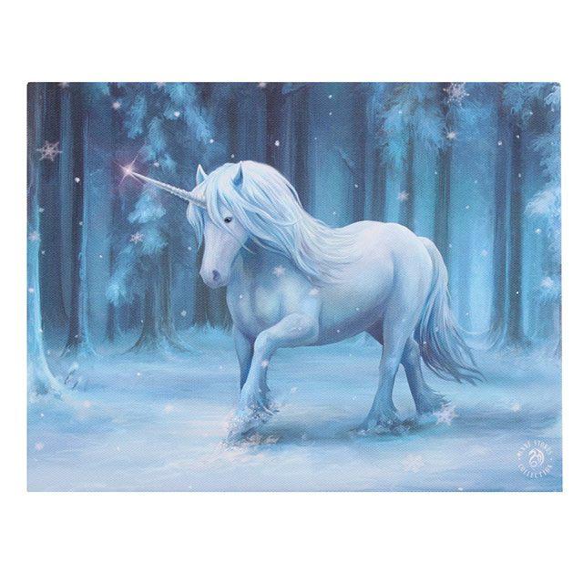 Canvas - Winter Wonderland - Anne Stokes