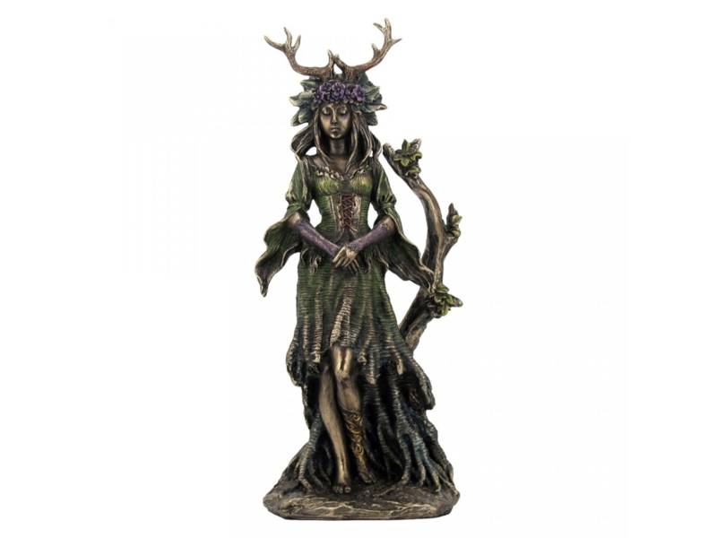 Beeld Bronze - Lady Of The Forest -  25cm