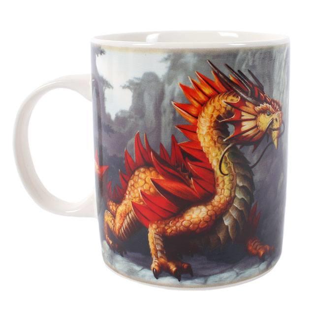 Mok Golden Mountain Dragon - Anne Stokes
