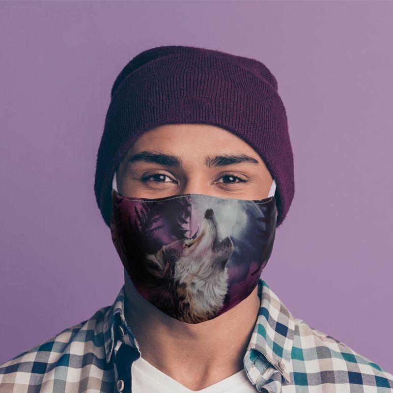 Mondmasker - Beschermer van het Noorden - Herbruikbaar