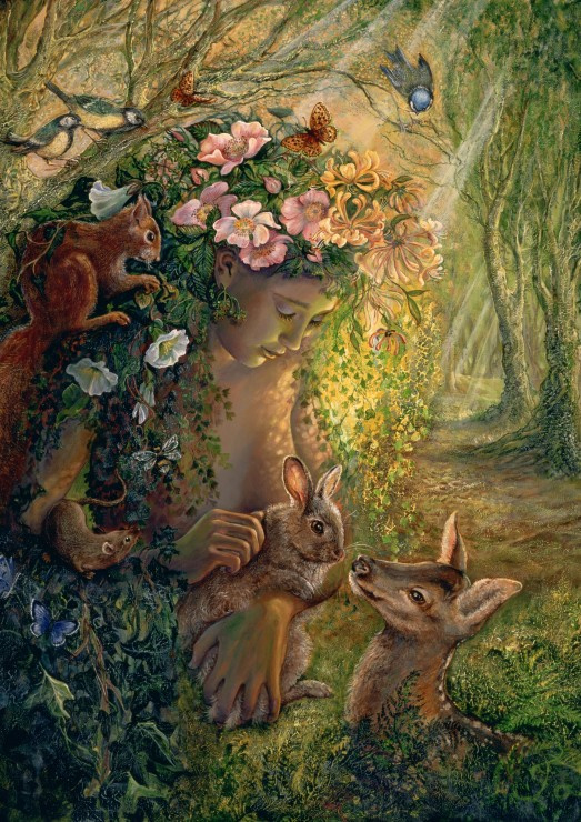 Puzzel - The Wood Nymph - Josephine Wall