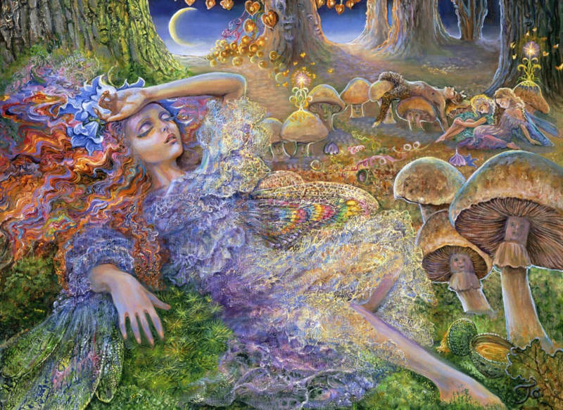 Puzzel - After The Fairy Ball - Josephine Wall