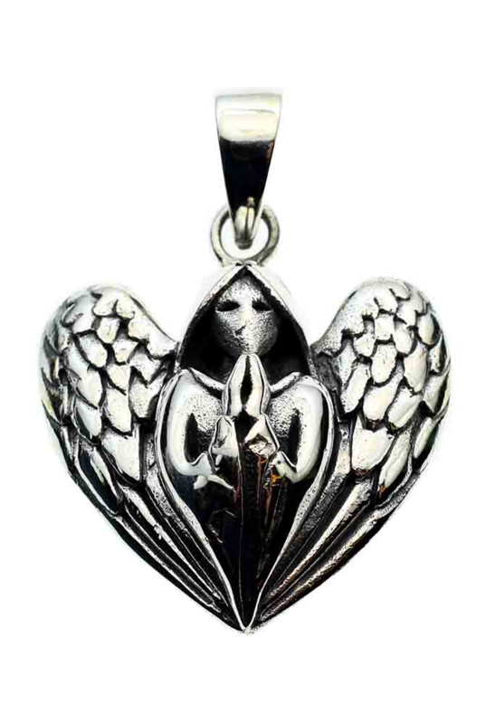 Praying Angel - Sterling Zilver - Lisa Parker