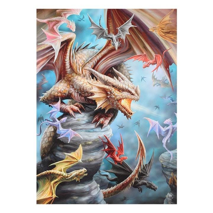 Canvas 50x70cm  - Dragon Clan - Anne Stokes