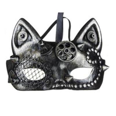 Steampunk masker - Teknocat