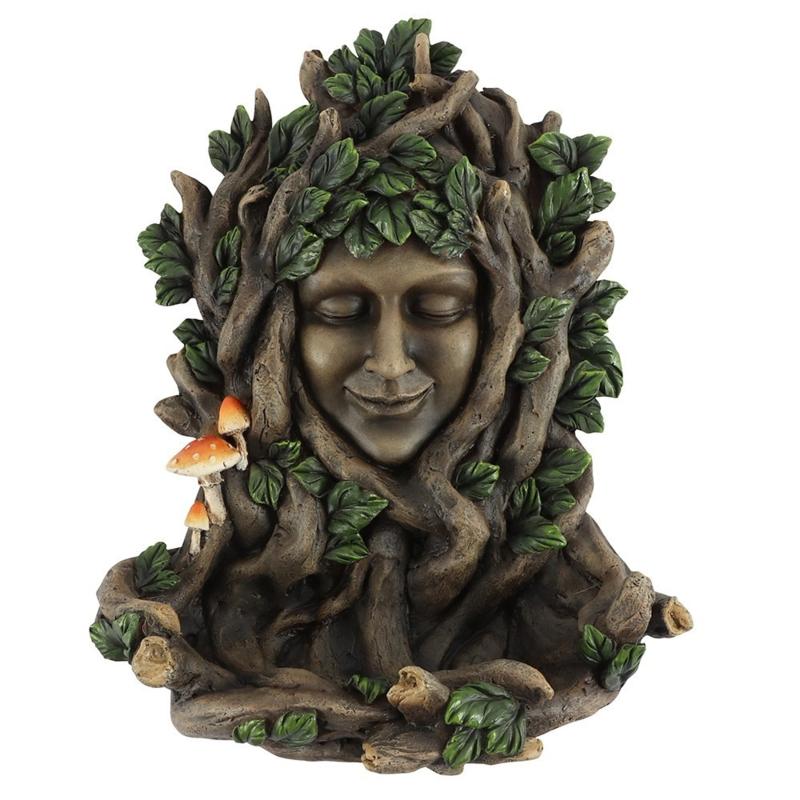 Bird feeder - Green Goddess 25cm - wanddecoratie