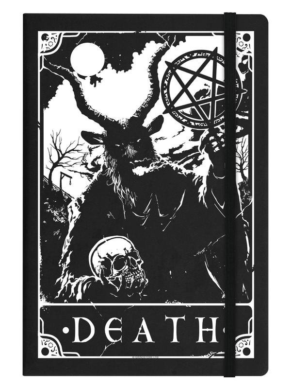 Notitieboek - Deadly Tarot - Death - A5