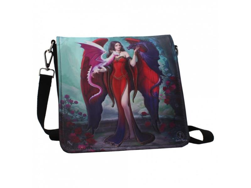 Embossed shoulder bag - Dragon Mistress - James Ryman