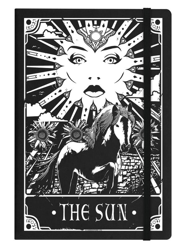 Notitieboek - Deadly Tarot - The Sun - A5
