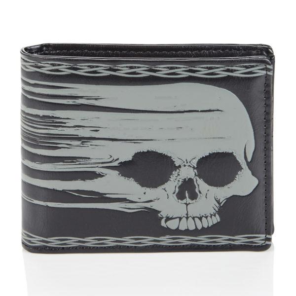 Portemonnee - Smeared Skull - Shagwear