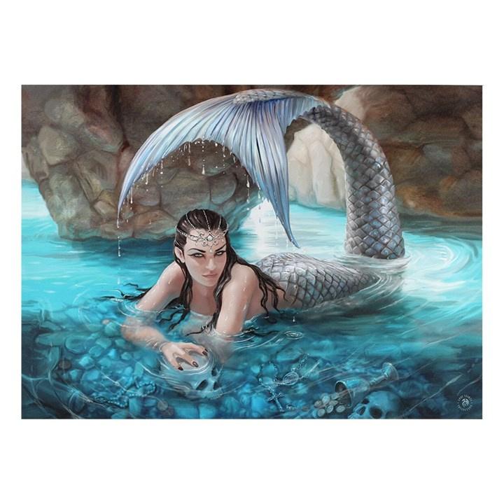 Canvas 50x70cm  - Hidden Depths - Anne Stokes