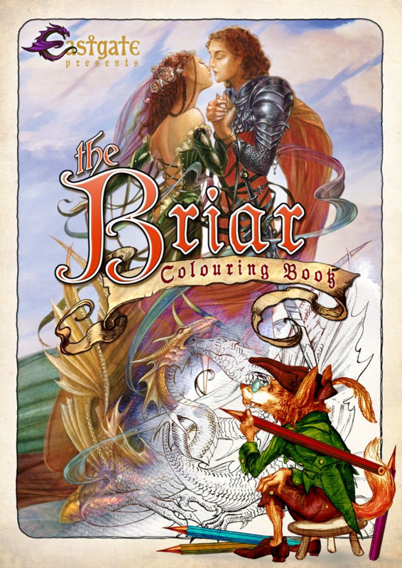 Colouring Book - Briar