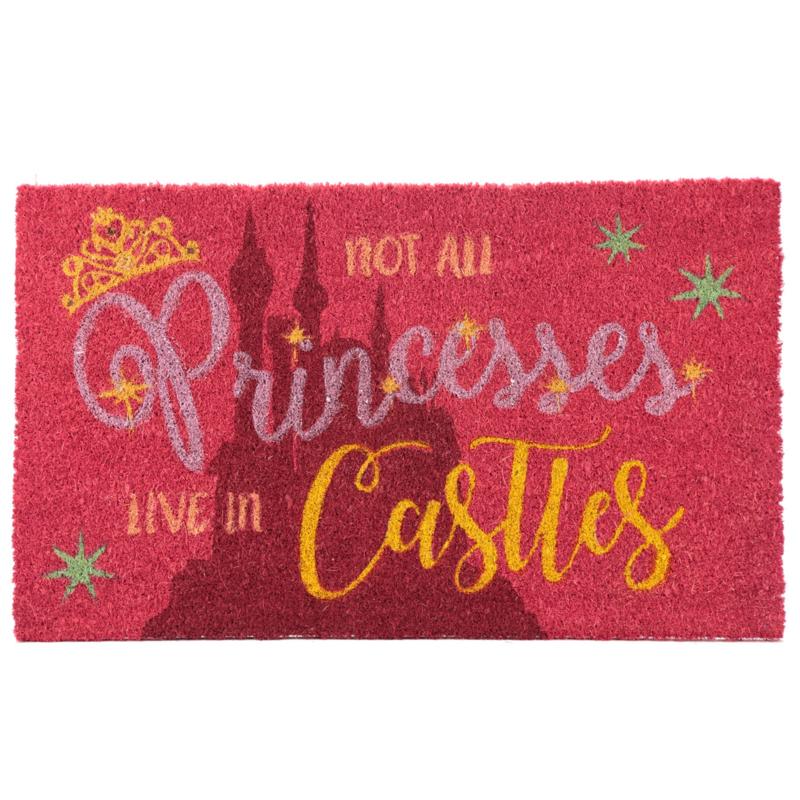 Not All Princesses Live in Castles - Kokosvezel deurmat