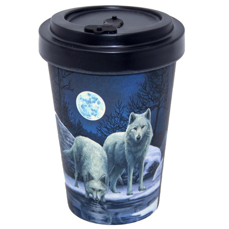 Travel mug - Warriors of Winter - Lisa Parker