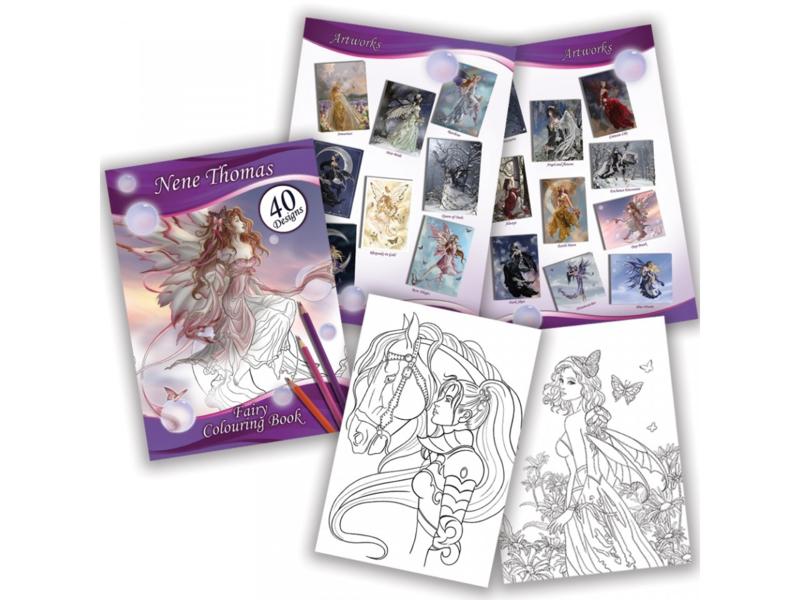Fairy Colouring Book - Nene Thomas