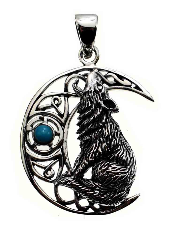 Moon Wolf Turquoise - Sterling Zilver - Lisa Parker