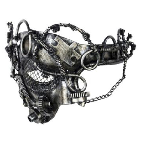 Steampunk masker - Puzzle