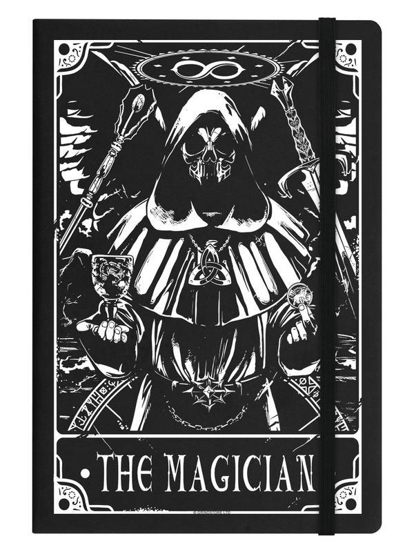 Notitieboek - Deadly Tarot - The Magician - A5
