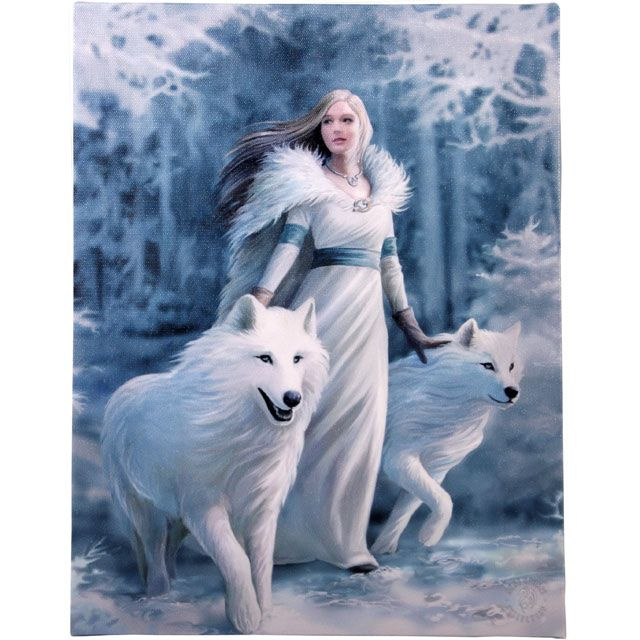 Canvas - Winter Guardians - Anne Stokes
