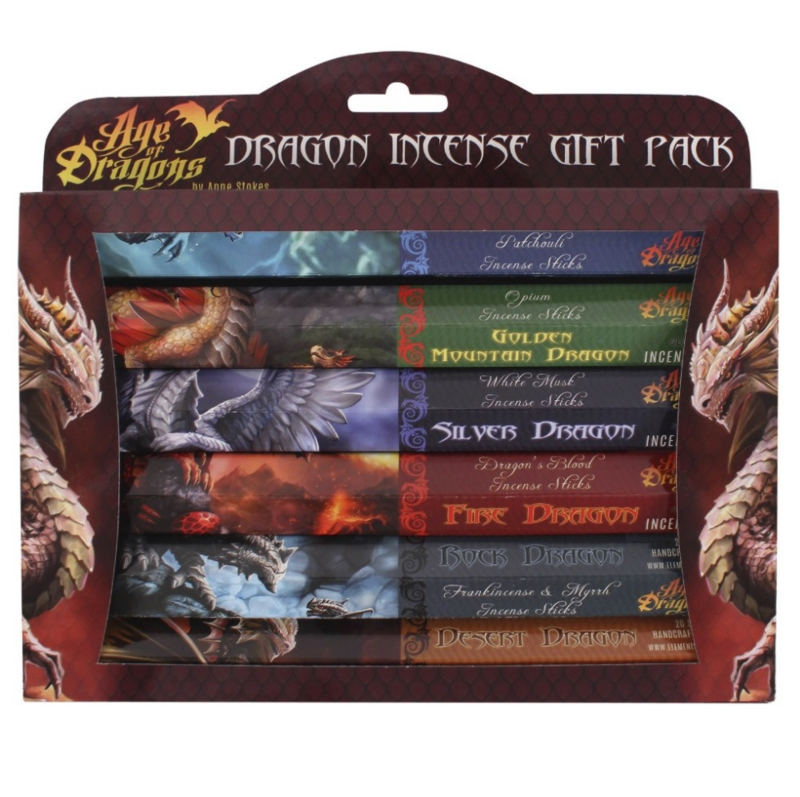 Wierook - Age of Dragons incense gift pack - Anne Stokes