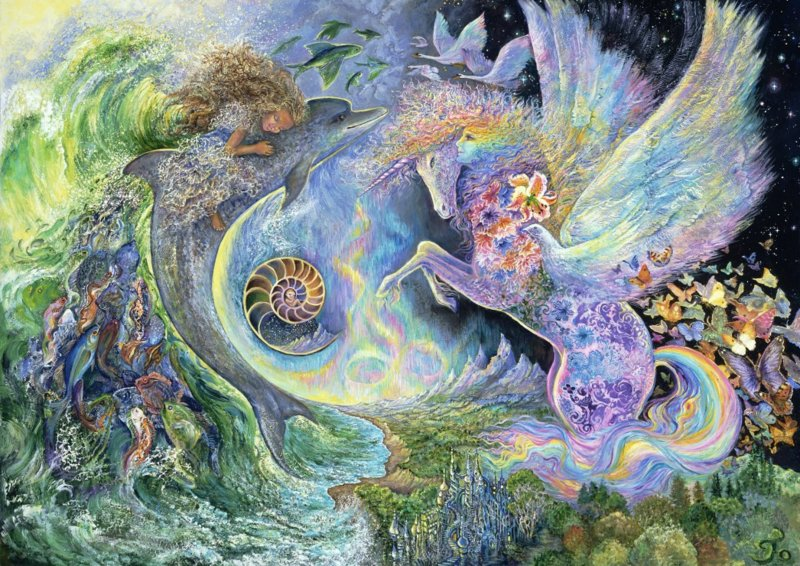 Puzzel - Magical Meeting - Josephine Wall