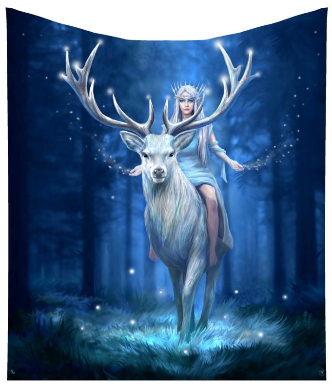 Fleece deken - Fantasy Forest - Anne Stokes