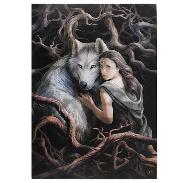 Canvas 50x70cm  - Soul Bond - Anne Stokes