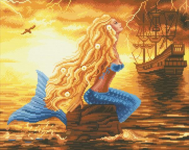 Diamond painting - Mermaid Dreams - Craft Buddy ®
